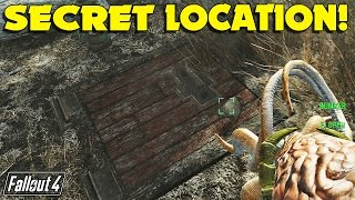 Fallout 4 Far Harbor Secret Trap Door that Leads Underground