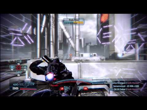 Gold Geth Trooper Scorpion Gameplay Vancouver Geth Full Team