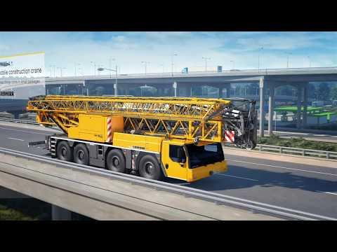 Liebherr - Mobile Construction Crane MK 88-4.1