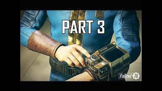 FALLOUT 76 Gameplay Walkthrough Part 3 - Survival (Full Game Impressions)
