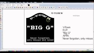 Torchmate Cad/cam -- Designing A Memorial Sign
