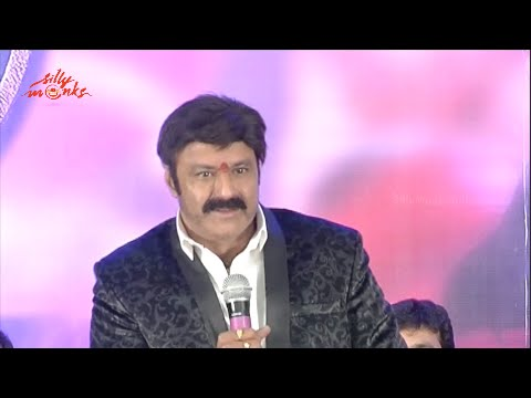 dictator success meet balakrishna speech pathologist