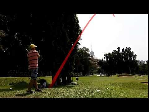 8th Hole Alan Forrest Tee Shot Asia Pattaya Golf Course Thailand