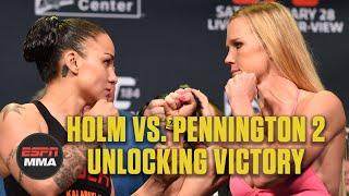 Holly Holm vs. Raquel Pennington Breakdown   UFC 246: Unlocking Victory   ESPN MMA