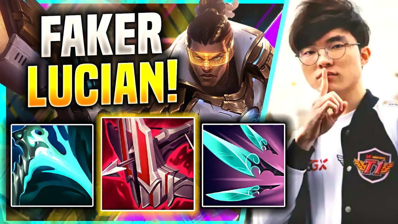 FAKER HUGE COMEBACK WITH LUCIAN! - T1 Faker Plays Lucian Mid vs Irelia! | KR SoloQ Season 11