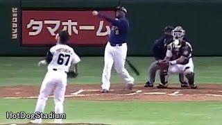2009年3月17日 日本ハム×オリックス (オープン戦) 東京ドーム 6回 ラロ...