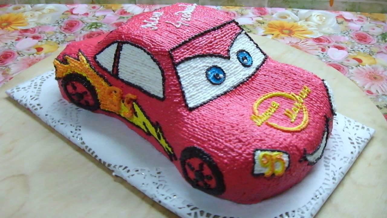 Торт маквин фото из крема