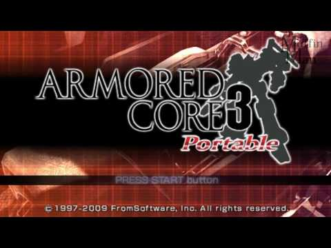 Armored Core 3 Portable PSP Gameplay HD