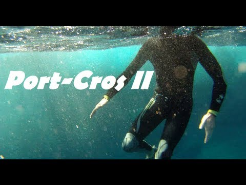 Weird free dive video - Port-Cros France
