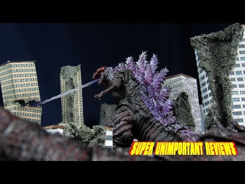 SH MonsterArts Shin Godzilla Awakening Fourth Form (2016) Figure Review