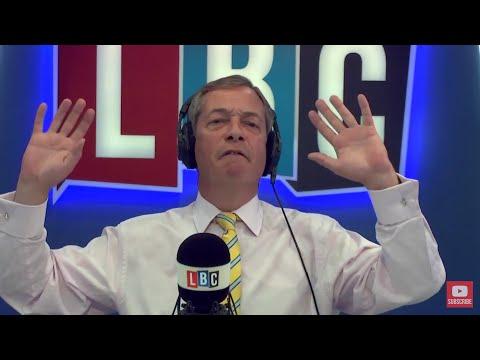 The Nigel Farage Show: latest developments Charlottesville, US.  Live LBC - 14th August 2017