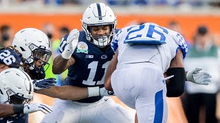 Lions legend Matt Millen breaks down Penn State's Micah Parsons, Brandon Smith