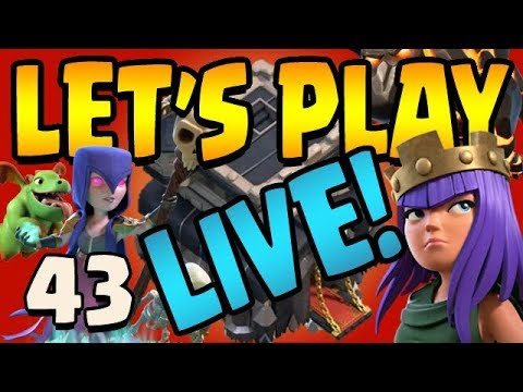 How To Farm Walls   Let's Play TH9 ep43 Live Stream   Clash of Clans