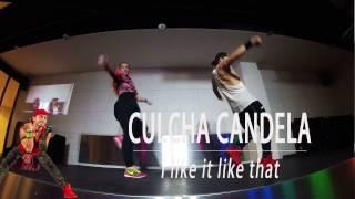 Culcha Candela - I like it like that. Chachacha Zumba Choreo