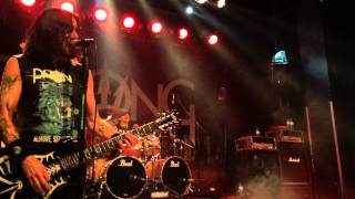 PRONG 'Snap Your Fingers, Snap Your Neck' Szene, Vienna 28. 04. 2015