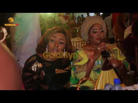 AKINSIKU OF LAGOS' FATHER'S BURIAL WITH K1 DE ULTIMATE PERFORMING