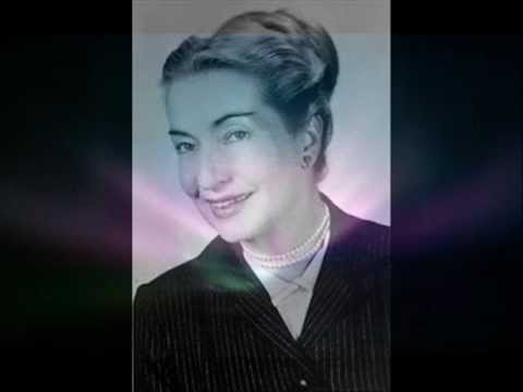 Elizabeth Klarer,  Part 1/9 - Live speech of her UFO-experiences