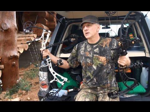 Блочный лук, Первое знакомство Обучение стрельбе из лука и охоте с блочным луком. Часть 1