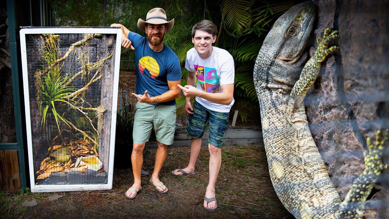 Epic Monitor Lizard Vivarium for Kamp Kenan