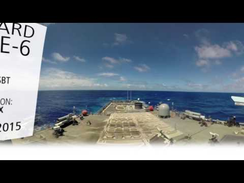 Multi-Mission SM-6 Missile Launch in 360°