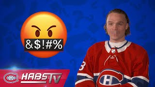 What are the Habs' favorite curse words?