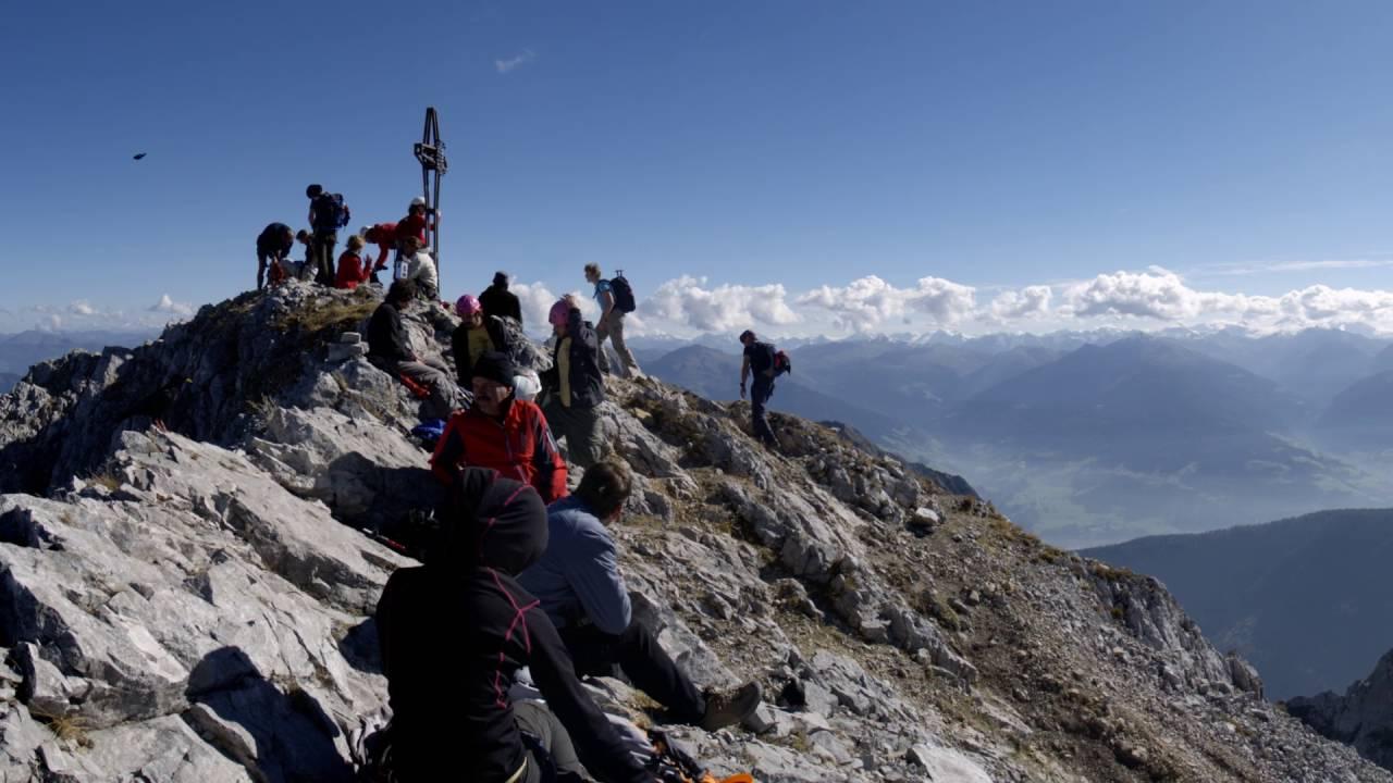 Klettersteig Lamsenspitze : Lamsenspitze karwendel youtube