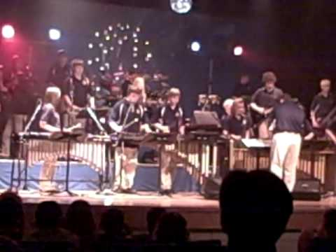 "Magnolia High School Percussion Ensemble: ""When You Were Young"""