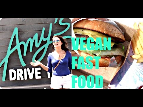 Conscious Fast Food? Amy's VEGAN DRIVE-THRU REVIEW