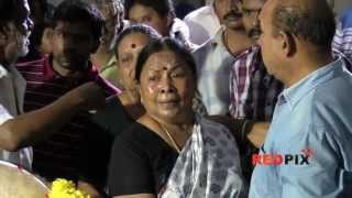 Actress Manorama  pays Respect  - Veteran actress Manjula Vijayakumar