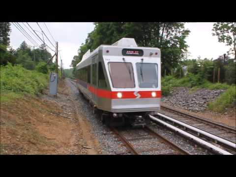 TVS-SEPTA Interurbans: Villanova Norristown Hi-Speed Line Station