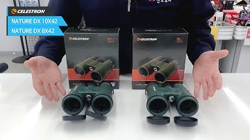 Celestron NATURE DX 10X42, 8X42 고급쌍안경 추천