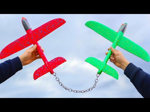 Experiment: Plane vs Plane