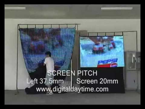ICE Flexible LED Curtain Screen Promo Video     sales@iceavglobal.com