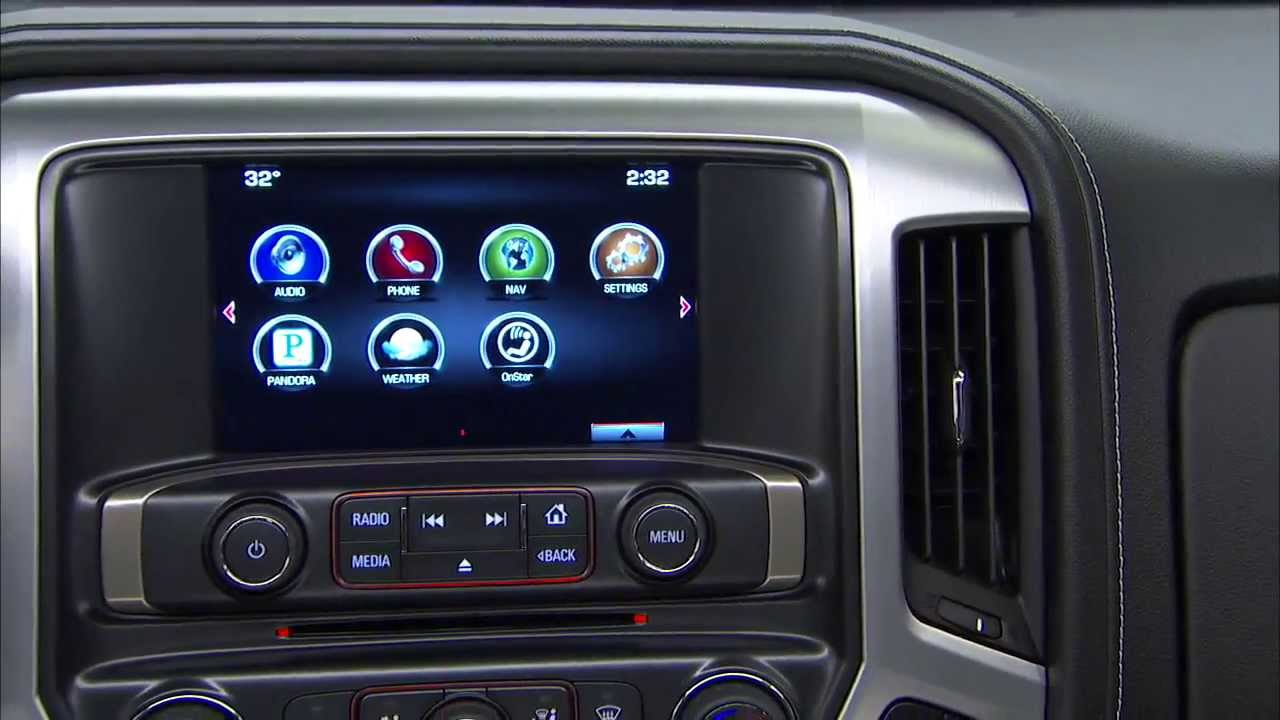 Interior Features Of The All New GMC Pickup Truck | 2014 Sierra 1500    YouTube