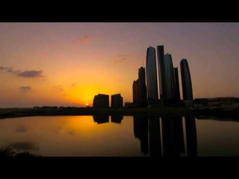 Sunset on Abu Dhabi (Time-Lapse)