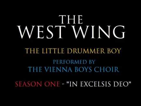 THE LITTLE DRUMMER BOY  From THE WEST WING