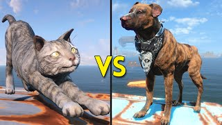 Fallout 4 - 250 CATS vs 250 DOGS - Battles #18