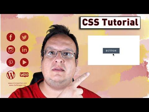 Ein Button Mit Slide In Hover Effekt Programmieren (Nur CSS Und HTML) [Anleitung / Tutorial]
