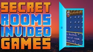 Best Secret Rooms Hidden In Video Games - The Easter Egg Hunter