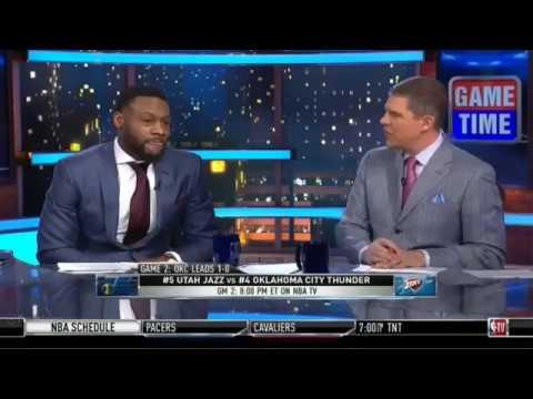 Oklahoma City Thunder vs Utah Jazz Who Will Win Game 2? | NBA GameTime | April 18, 2018