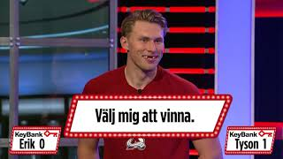 Tyson Barrie & Erik Johnson try to speak Swedish