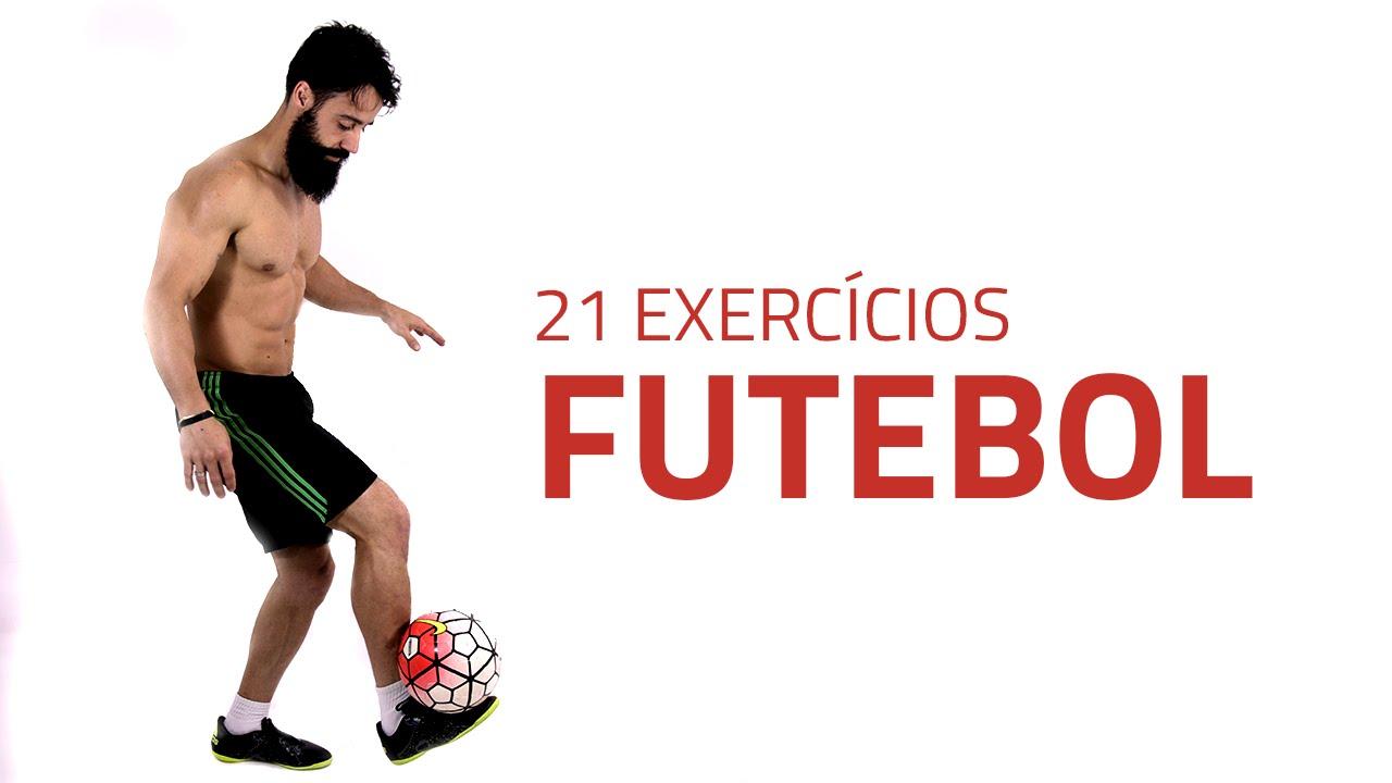 Exercícios de futebol como aquecimento - condição física