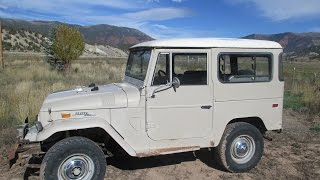 1970 Toyota FJ40 Land Cruiser in Action for sale in Eagle Colorado