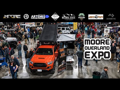 2020 MOORE Overland Expo + Camping & Offroading In My Jeep TJ