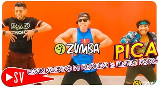 PICA By Elvis Crespo Ft Deorro &amp Henry Ford ZUMBA Choreo