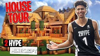 MY FIRST INSANE HOUSE TOUR! 2HYPE Minecraft