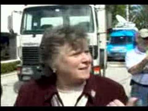 Barbara Weller interview during Terri Schiavo extermination
