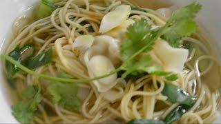 Cooking Class - Wonton Dumplings with Noodle Soup - Edit