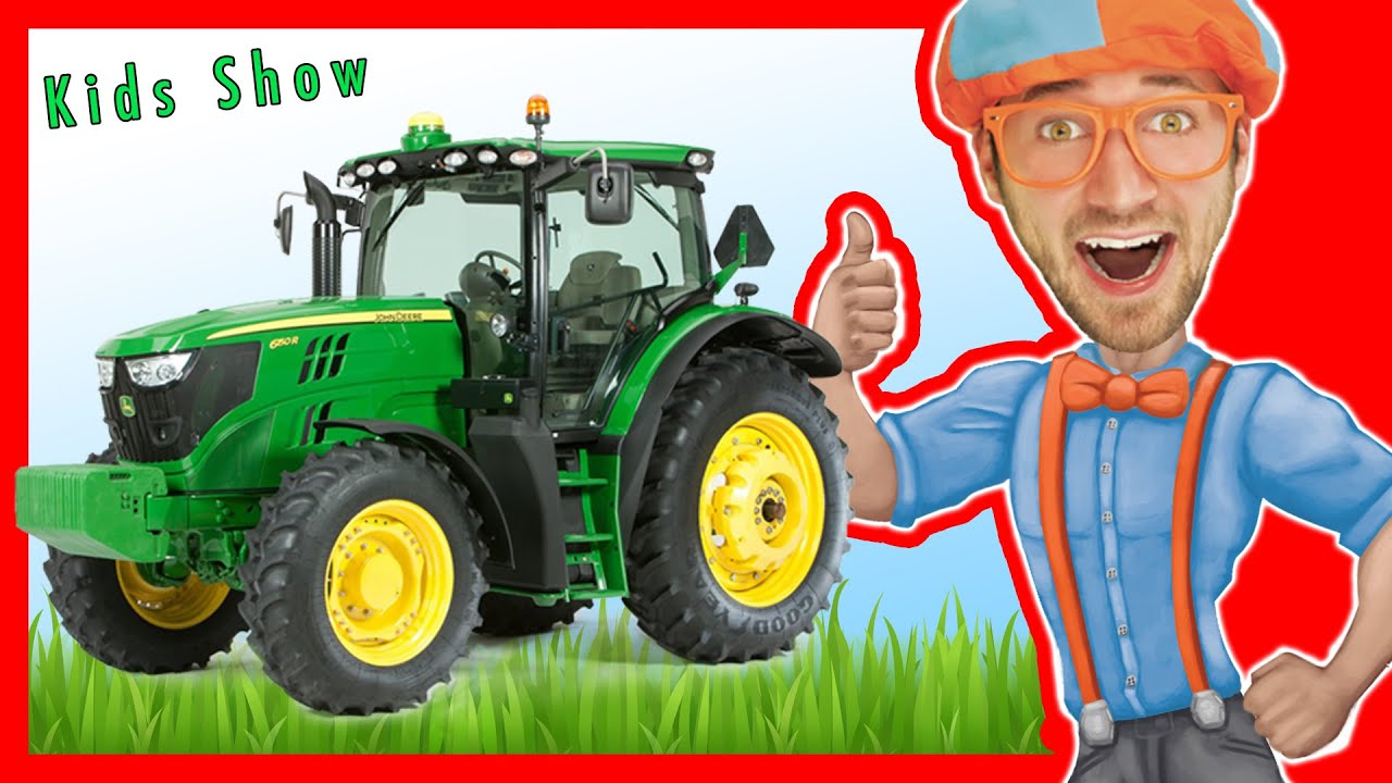 Learn The Alphabet With Blippi Learn Letters For