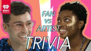 MAX Challenges A Super Fan In A Trivia Battle | Fan Vs. Artist Trivia